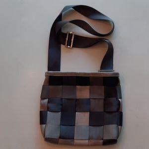 Harveys Seatbelt Treecycle crossbody bag purse